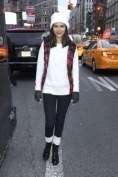 Victoria Justice - American Eagle Outfitters #AEOGetDownNYC Party Bus in New York City