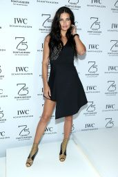 Adriana Lima - IWC Booth during the SIHH in Geneva - January 2015