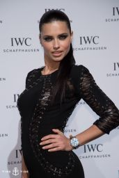 Adriana Lima Style - IWC Gala Dinner in Geneva - January 2015