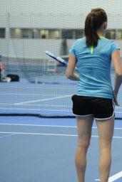 Agnieska Radwanska -  Australian Open 2015 in Melbourne - Practice Session