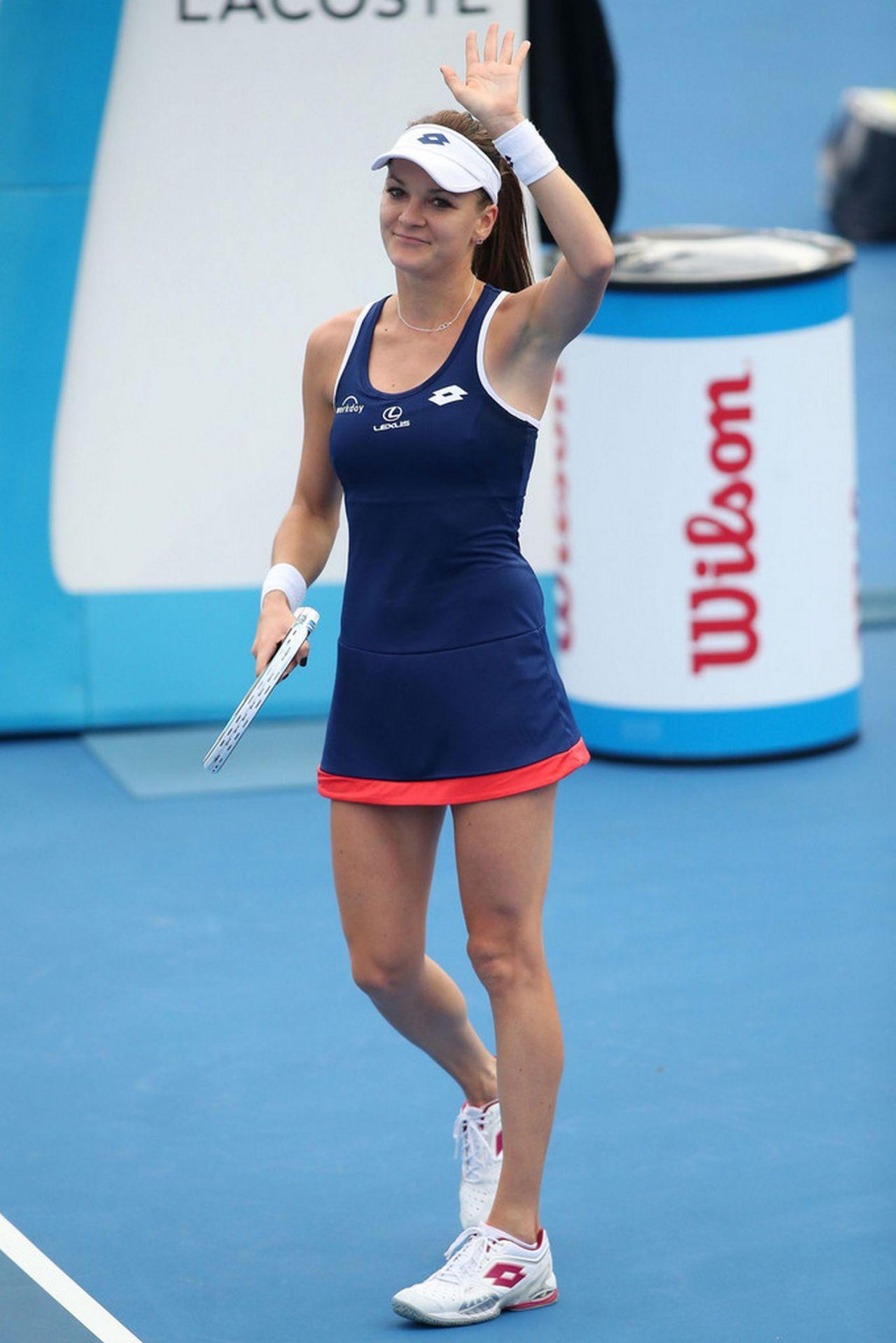 Agnieszka Radwanska – 2015 Australian Open in Melbourne – Round 1