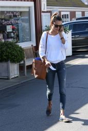 Alessandra Ambrosio - Out in Brentwood, January 2015