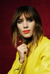Alexa Chung - Elle Magazine (UK) Photos - February 2015
