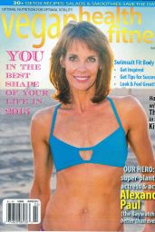 Alexandra Paul - Vegan Health & Fitness Magazine February 2015 cover
