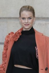 Alice Eve - Schiaparelli Fashion Show in Paris, January 2015