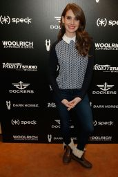 Alison Brie - Variety Studio at Sundance in Park City - January 2015