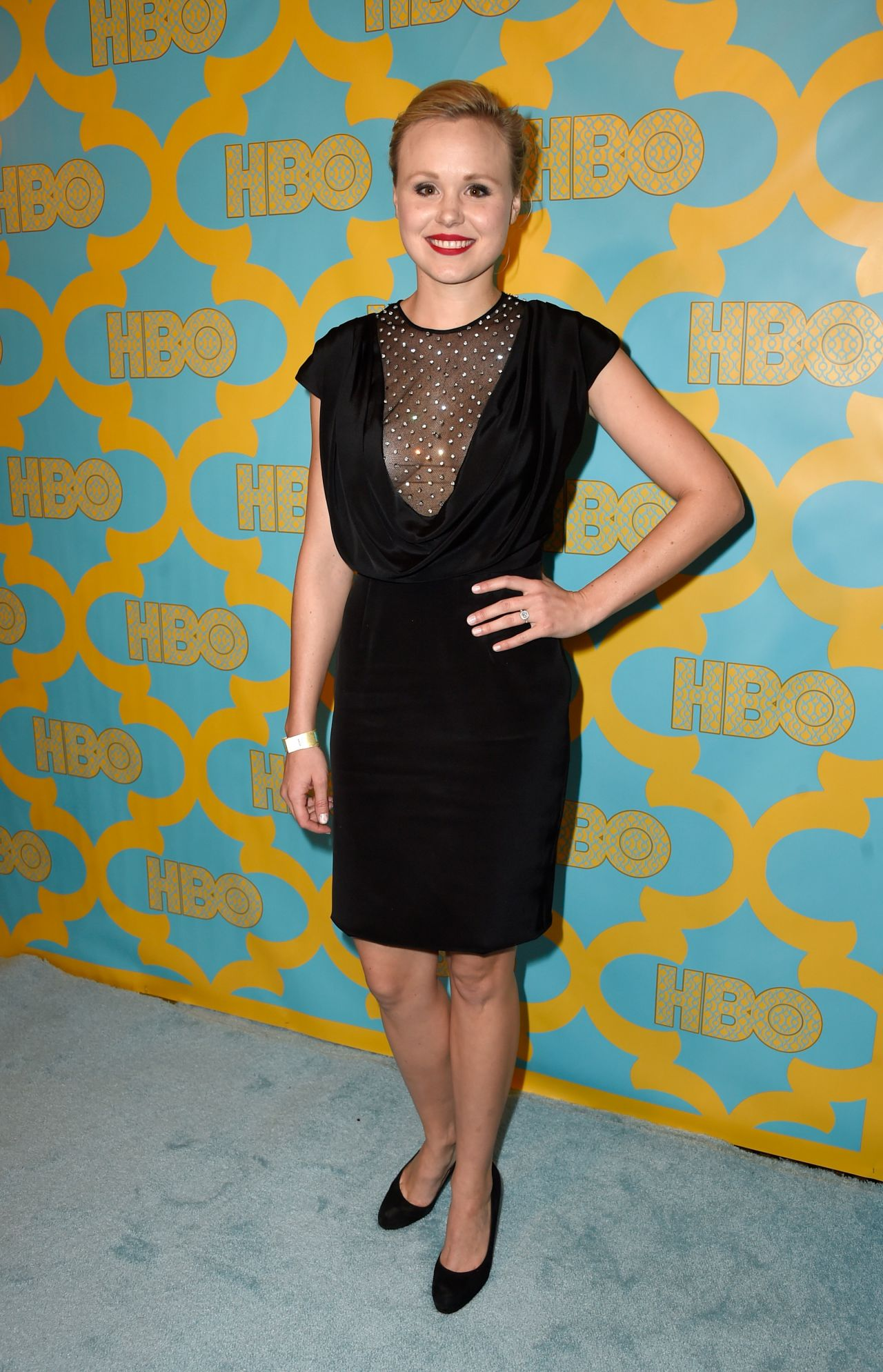 Alison Pill – HBO's Post 2015 Golden Globe Awards Party