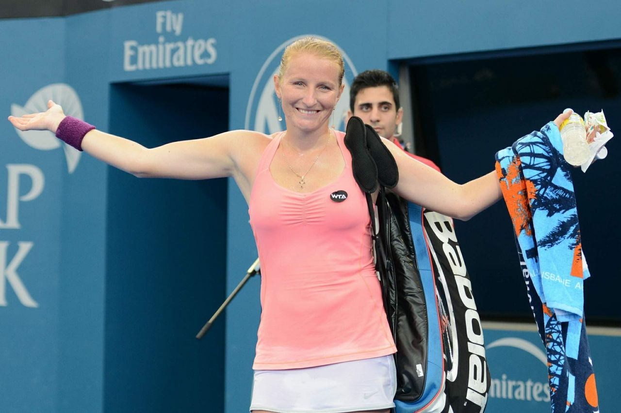 Alla Kudryavtseva – Brisbane International 2015 – Quarter Final