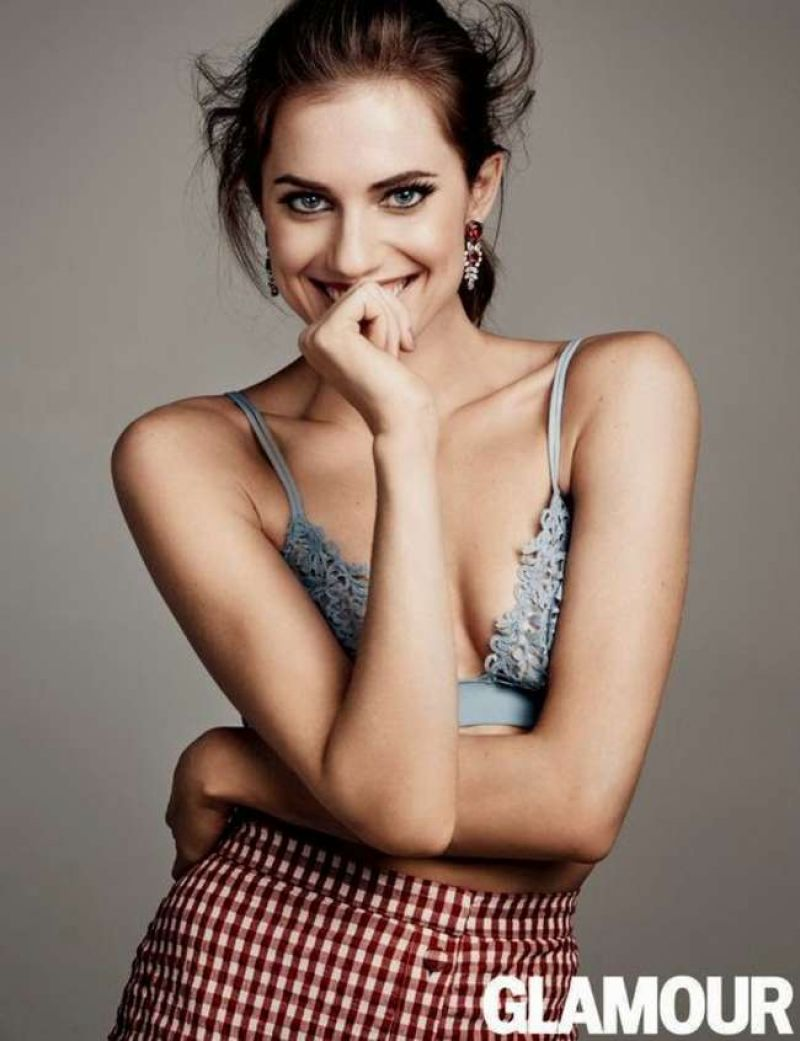 Allison Williams – Glamour Magazine February 2015
