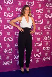 Amanda Byram - Cirque du Soleil Kooza Press Night, January 2015