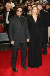 Amber Heard – 'Mortdecai' Premiere in London