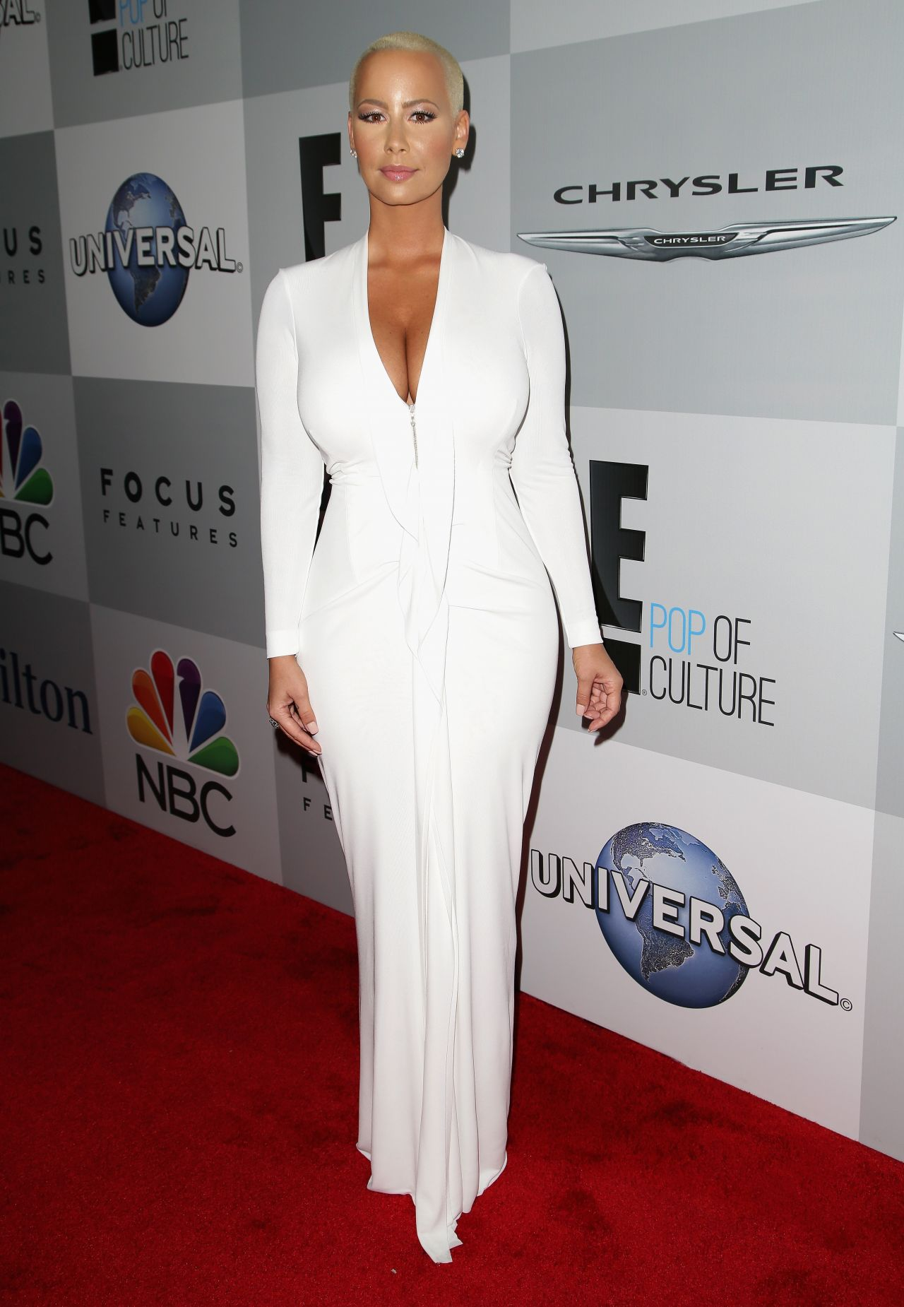 Amber Rose - NBC/Universal 2015 Golden Globes Party