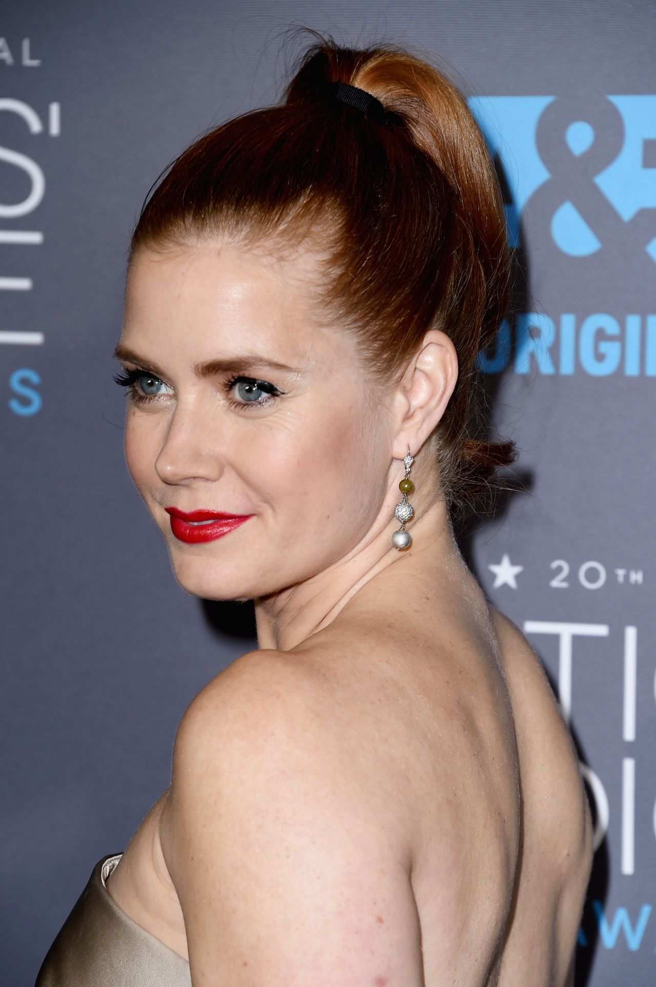 Amy Adams 2015 Critics Choice Movie Awards In Los Angeles