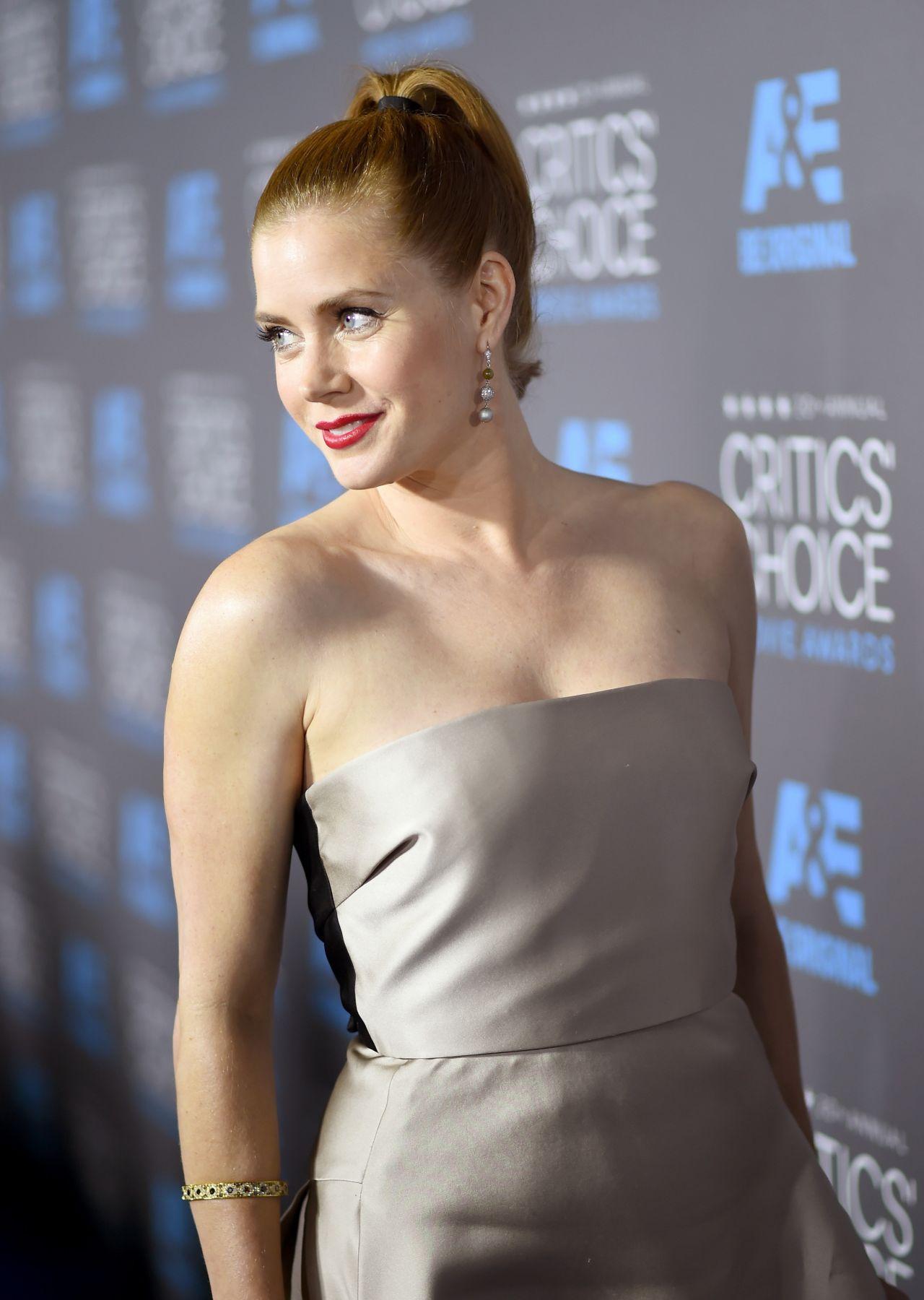 Amy Adams – 2015 Critics Choice Movie Awards in Los Angeles Amy Adams Movies