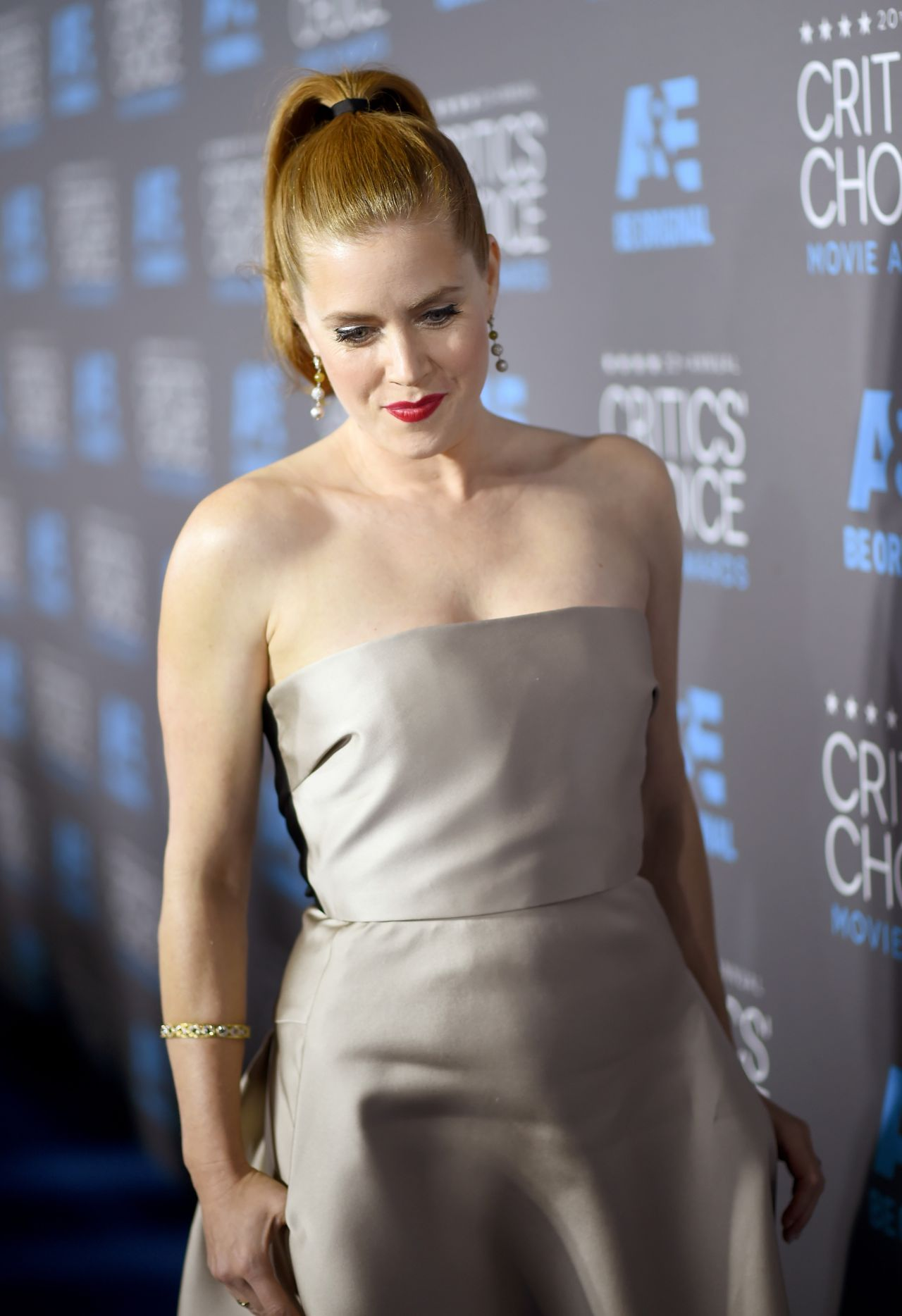 Amy Adams 2015 Critics Choice Movie Awards In Los Angeles