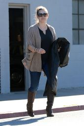 Amy Adams - Exits an Office Building in West Hollywood - January 2015