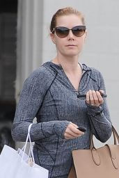 Amy Adams in Leggings - Shopping in Beverly Hills - January 2015