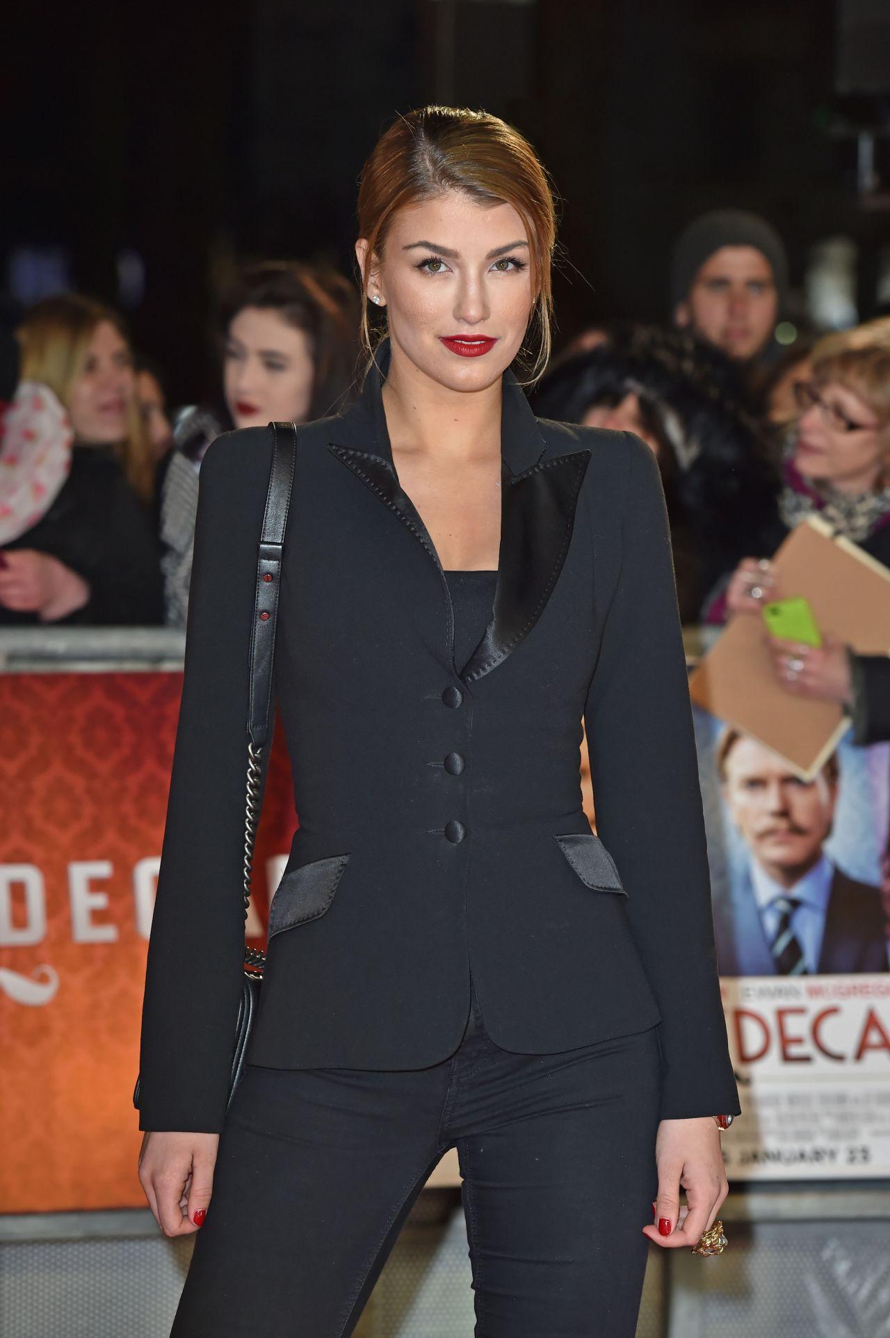 Amy Willerton – 'Mortdecai' Premiere in London