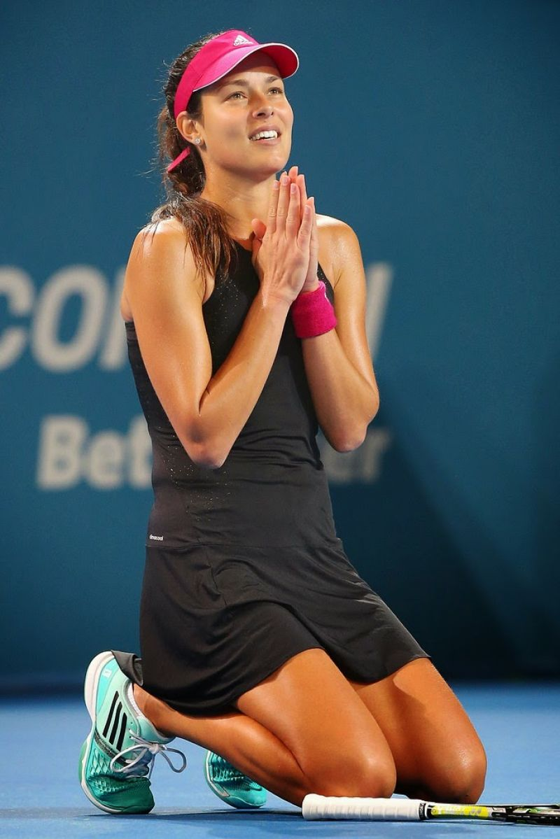 Ana Ivanovic 2015 Brisbane International Quarter Final