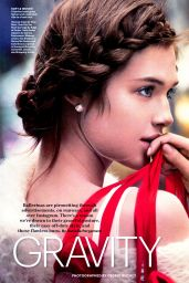 Anais Pouliot  - Allure Magazine (US) February 2015 Issue