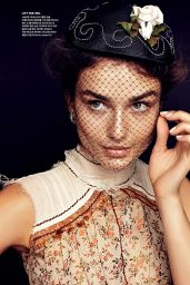 Andreea Diaconu - Vogue Magazine (Korea) February 2015 Issue