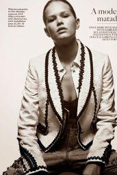 Anna Ewers - Vogue Magazine (UK) February 2015