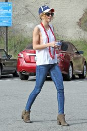 AnnaLynne McCord in Jeans - Out in West Hollywood, Jan. 2015