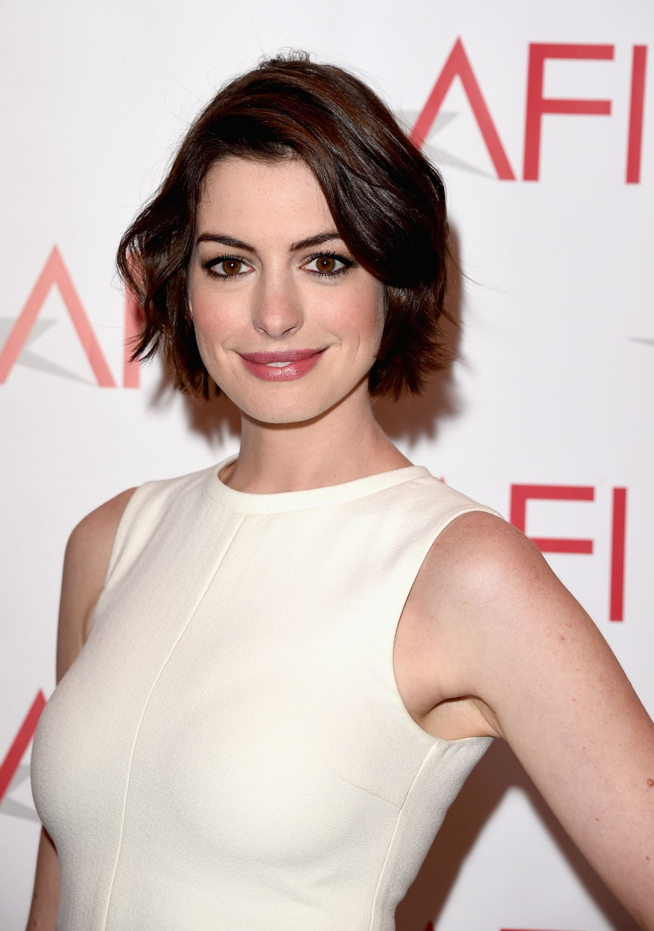 Anne Hathaway – 2015 AFI Awards in Los Angeles Anne Hathaway