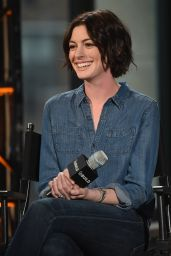 Anne Hathaway - AOL Build Speaker Series in New York City, January 2015