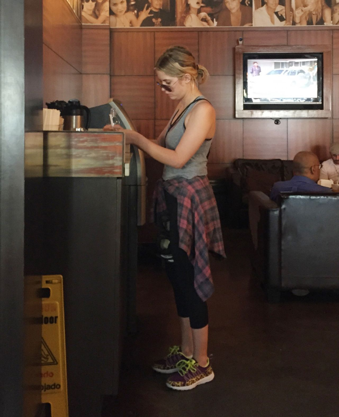 Ashley Benson at Cafe Primo in West Hollywood - January 2015