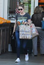 Ashley Benson - Shopping at Bristol Farms in Beverly Hills, January 2015