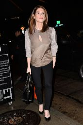 Ashley Greene Style - Leaves Dinner at Craigs in Los Angeles, January 2015