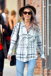 Audrina Patridge Street Style - Out in Hollywood, January 2015