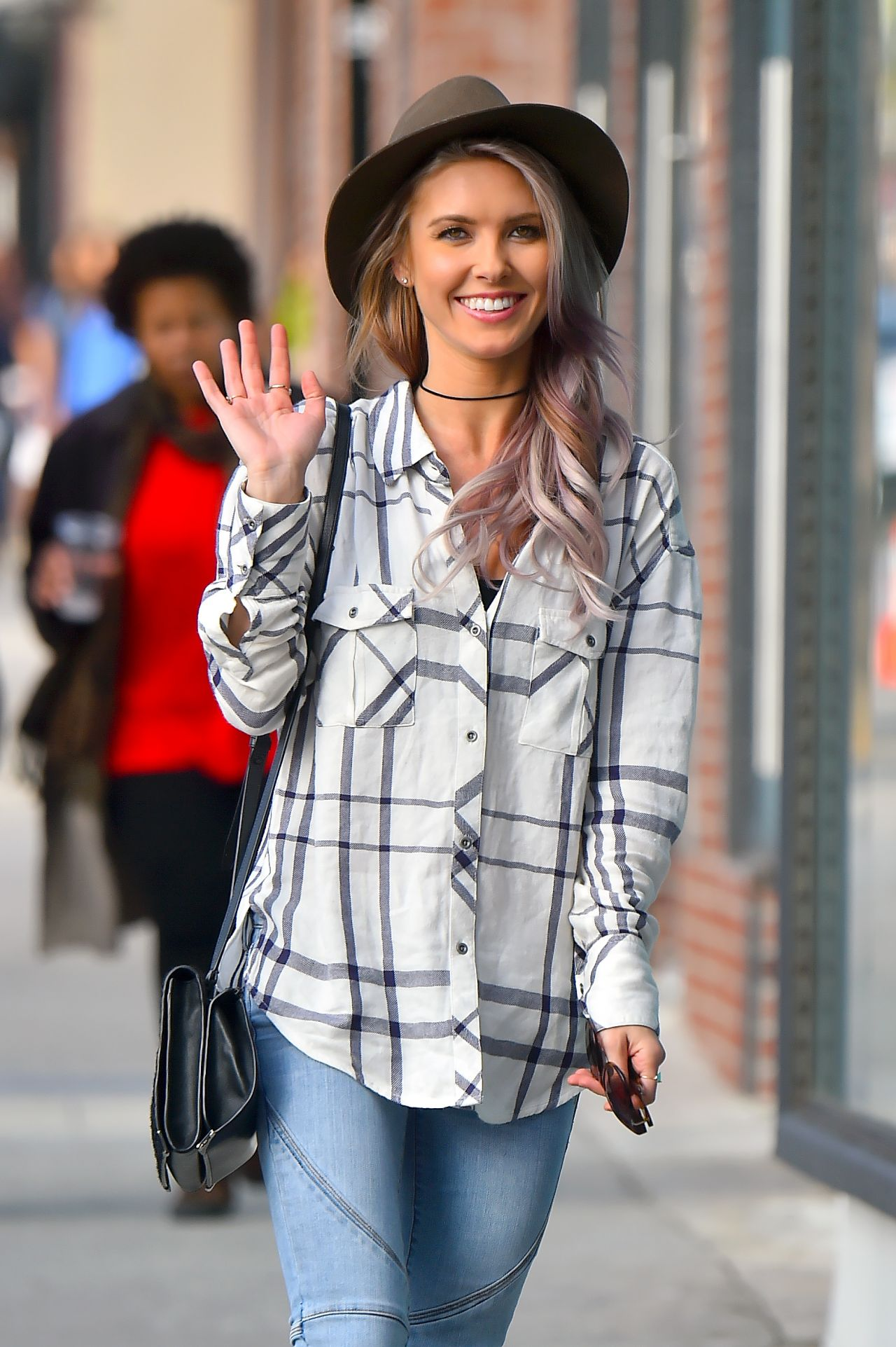 audrina patridge street style out in hollywood january 2015