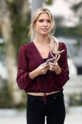 Audrina Patridge Street Style - Out in Los Angeles, January 2015
