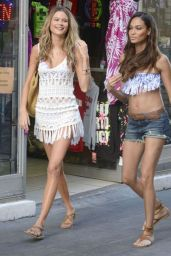 Behati Prinsloo and Joan Smalls - Photoshoot in Puerto Rico, January 2015