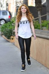 Bella Thorne - Leaving a Press Day in Los Angeles, January 2015