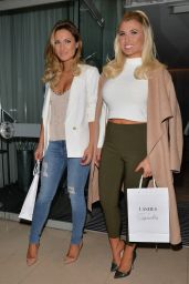 Billie & Sam Faiers - Lashes Launch at the Sanderson Hotel in London - January 2015