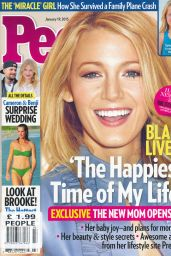 Blake Lively - People Magazine January 19th 2015 Issue