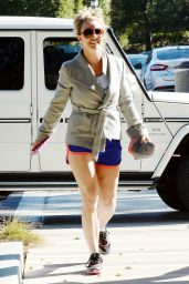 Britney Spears - Equinox Gym in Westlake Village - Jan. 2015