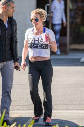 Britney Spears - Leaving a Gym in Thousand Oaks, January 2015