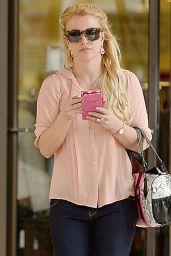Britney Spears Style - Westfield Topanga Mall in Canoga Park LA, Jan. 2015