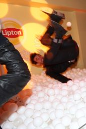 Brittany Snow - Lipton Sparkling Iced Tea Lounge at Sundance in Park City
