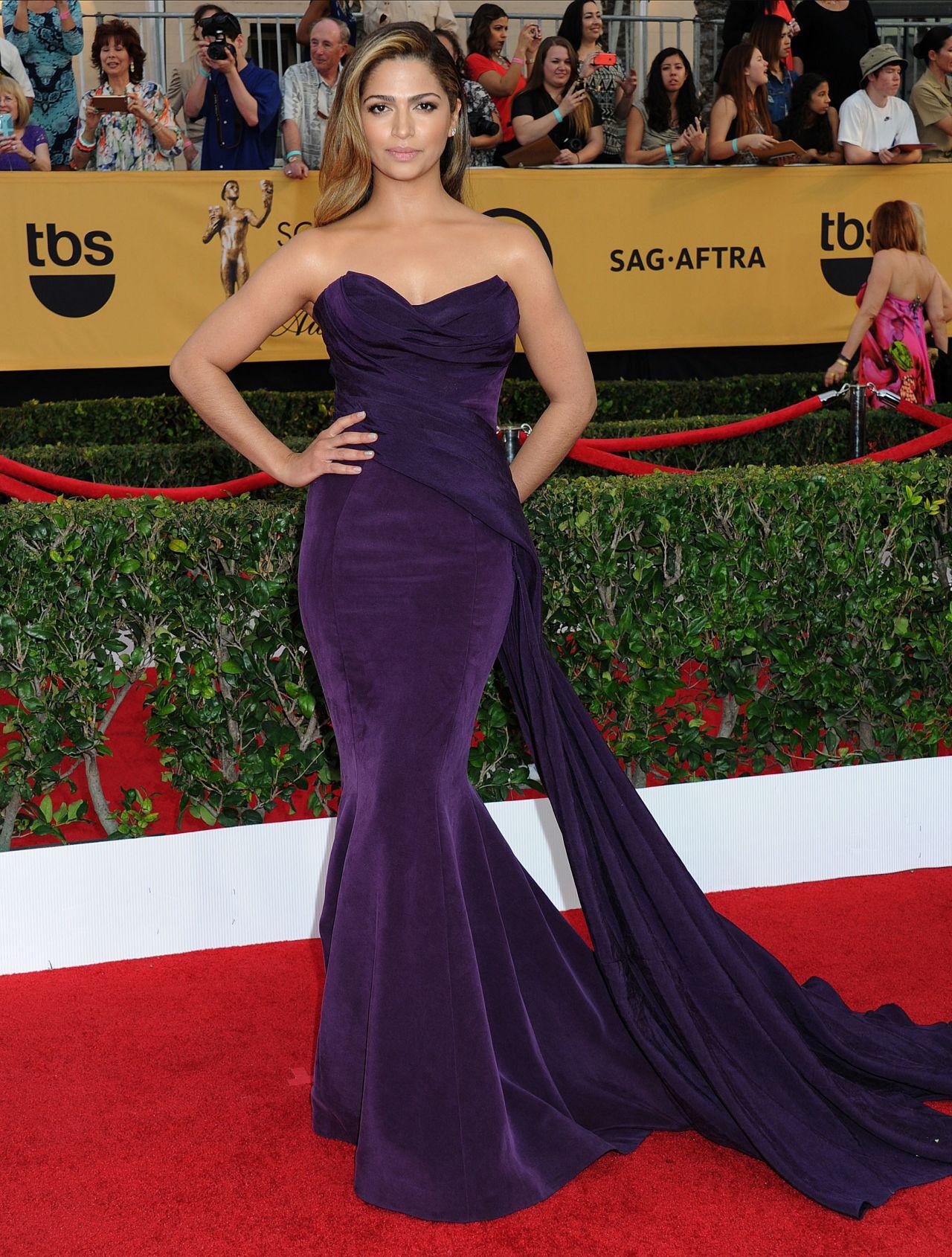 Camila Alves - 2015 SAG Awards in Los Angeles • CelebMafia