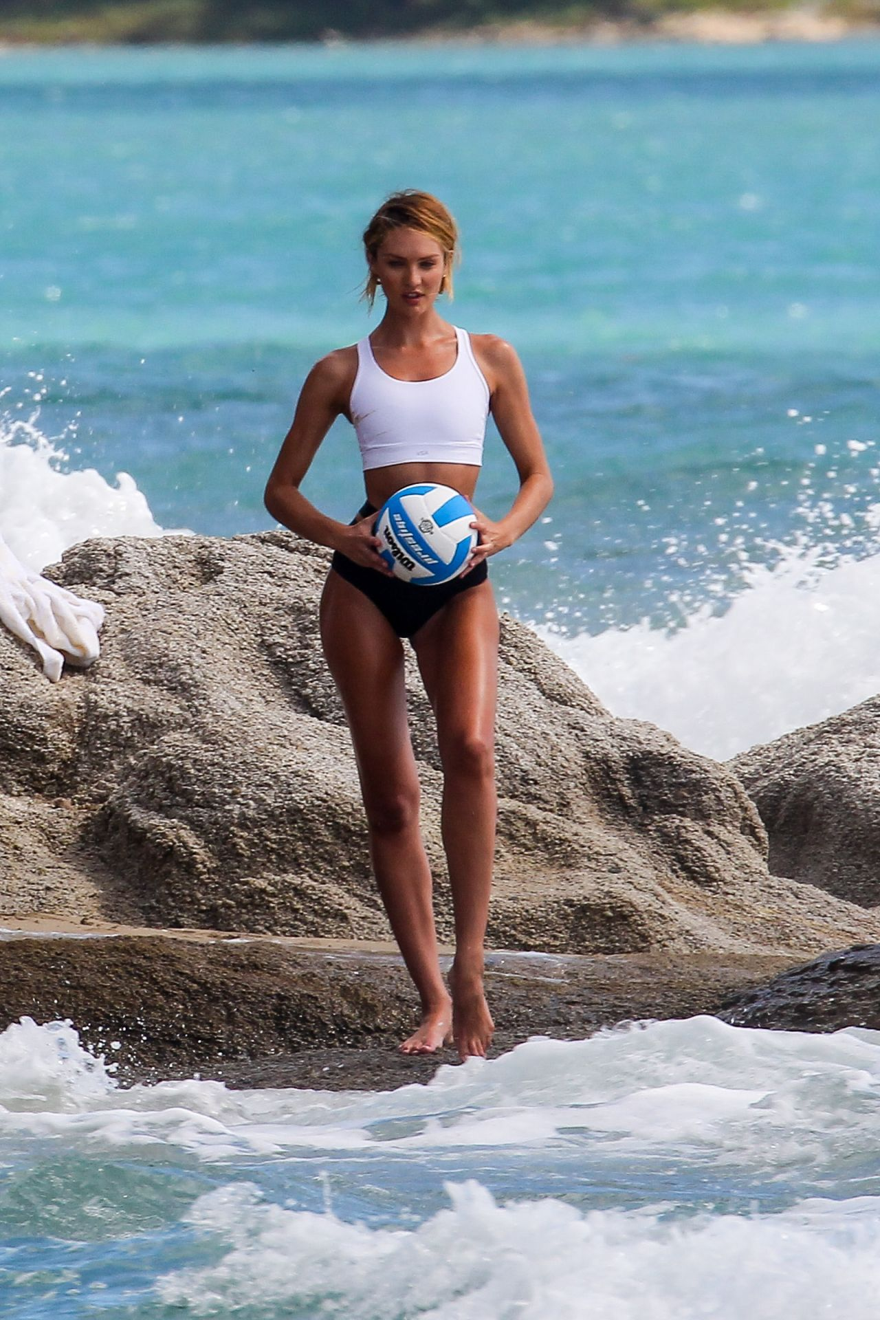 Candice Swanepoel - Swim Photoshoot in Puerto Rico, Jan. 2015