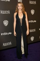 Cara Delevingne – InStyle And Warner Bros. 2015 Golden Globe Awards Post-Party