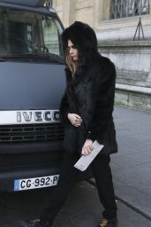 Cara Delevingne - Leaves the Tag Heuer Event in Paris, January 2015
