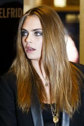 Cara Delevingne Style - YSL Loves Your Lips Launch in London