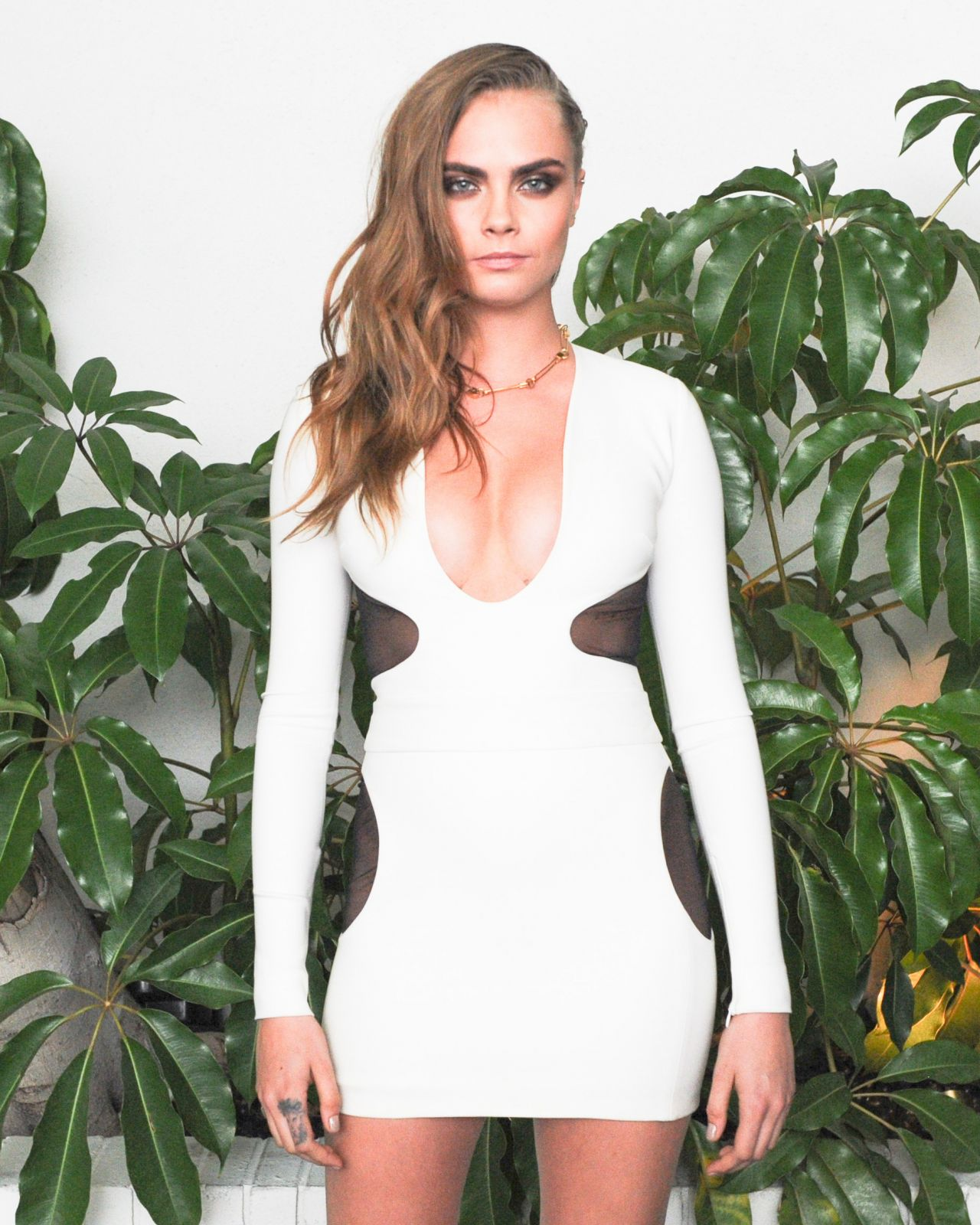 Cara Delevingne – W Magazine Celebrates Golden Globes Week 2015 in Los Angeles