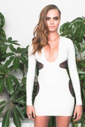 Cara Delevingne – W Magazine Celebrates Golden Globes Week 2015 in Los Angeles